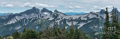 Photograph - Tatoosh Panorama by Sharon Seaward