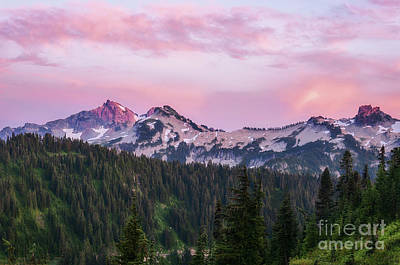 Photograph - Tatoosh Sunset by Sharon Seaward