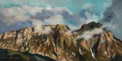 Painting - Tatry Mountains- Giewont by Luke Karcz