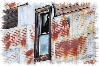 Photograph - Tattered By Time by Lori Mellen-Pagliaro