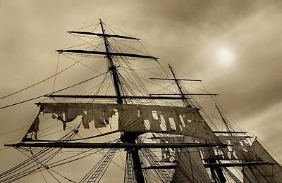 Photograph - Tattered Sails by Joe Bonita