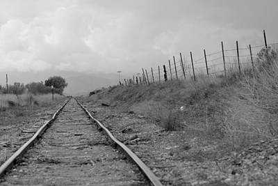 Photograph - Tattered Tracks by Trent Mallett