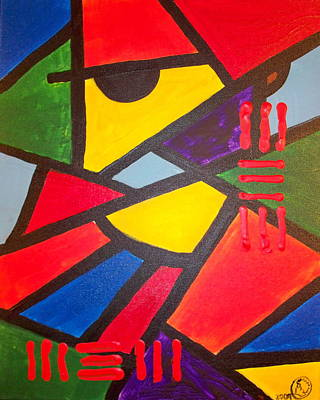 Tatu Art Print by Malik Seneferu