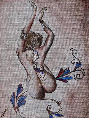 Tatuje Art Print by Jordana Archer