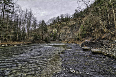 Photograph - Taughannock Creek by Steven Wilson
