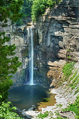 Green Lakes State Park Wall Art - Photograph - Taughannock Falls by Christina Rollo