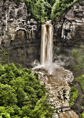 Taughannock Falls State Park Photograph - Taughannock Falls by Stephen Stookey