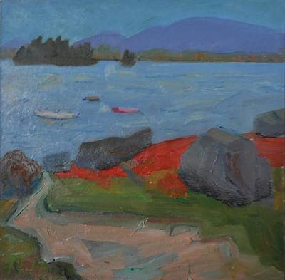 Painting - Taunton Bay by Francine Frank