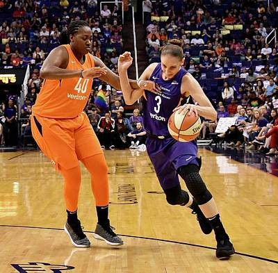 Wall Art - Photograph - Taurasi Fouled by Devin Millington
