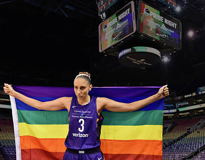 Wall Art - Photograph - Taurasi Pride 1 by Devin Millington