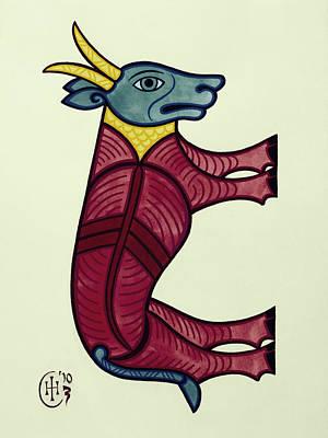 Taurus Art Print by Ian Herriott