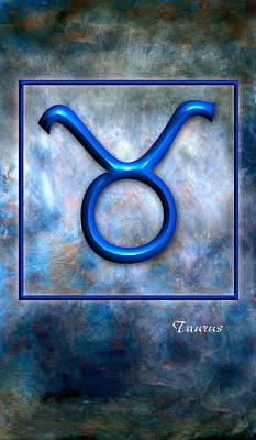 Mauro Pyrography - Taurus  by Mauro Celotti