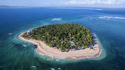 Photograph - Tavarua Aerial by Brad Scott