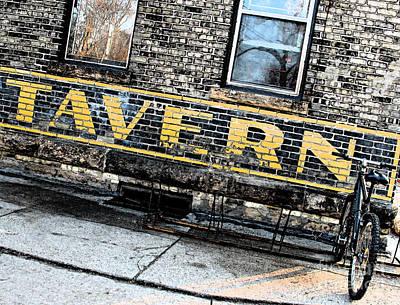 Scale Digital Art - Tavern by Gary Everson