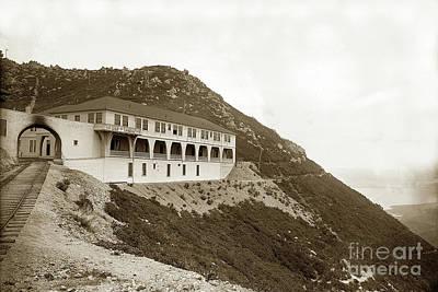 Photograph - Tavern Of Tamalpais, Mount Tamalpais Marin Co. May 15, 1902 by California Views Mr Pat Hathaway Archives