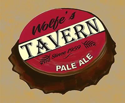 Tavern Sign Art Print