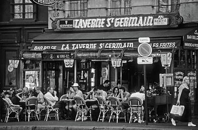 Photograph - Taverne St. Germain, Paris by Frank DiMarco