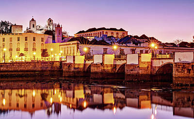 Photograph - Tavira Reflections - Portugal by Barry O Carroll