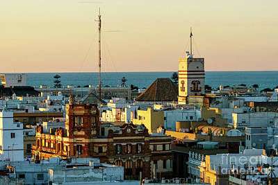 Photograph - Tavira Tower And Post Office From West Tower Cadiz Spain by Pablo Avanzini