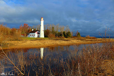 Photograph - Sturgeon Point Lighthouse by Michael Rucker