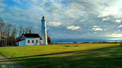 Photograph - Tawas Point Lighthouse by Michael Rucker