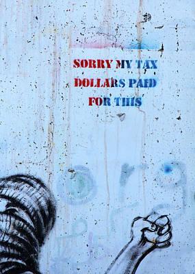 Just Desserts - Tax Dollars by Munir Alawi