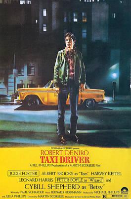 De Niro Photograph - Taxi Driver - Robert De Niro by Georgia Fowler