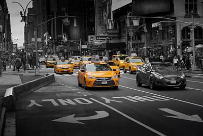 Taxi Please Art Print