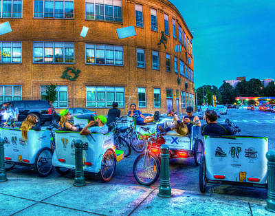 Photograph - Taxi Stand 001 by Jeff Stallard