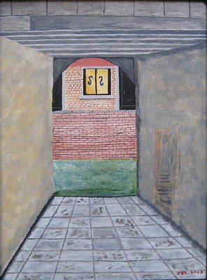 Taxi Stands Painting - Taxi Stand by James LeClare