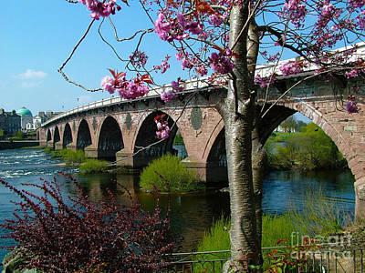 Photograph - Tay Bridge - Perth - Scotland by Phil Banks