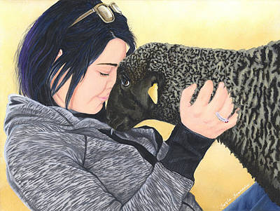 Liberation Painting - Tayler And Ooby by Twyla Francois