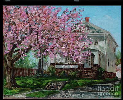 Taylor Cherry Tree Art Print by Edward Williams