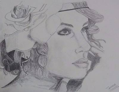 Taylor Swift Drawing - Taylor Swift by Tanmaya Chugh