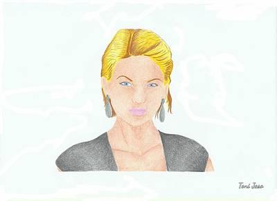 Taylor Swift Drawing - Taylor Swift by Toni Jaso
