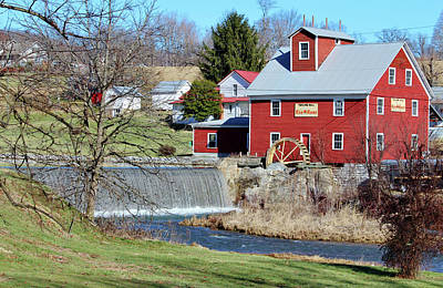 Photograph - Taylor's Mill by Cynthia Guinn