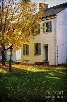 Photograph - Taylorsville House In Autumn by Debra Fedchin