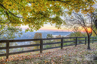 Kentucky Photograph - Taylorsville Lake by Twenty Two North Photography