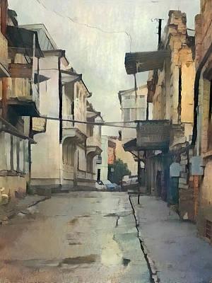 Tbilisi Digital Art - Tbilisi Old Streets 2 by Yury Malkov