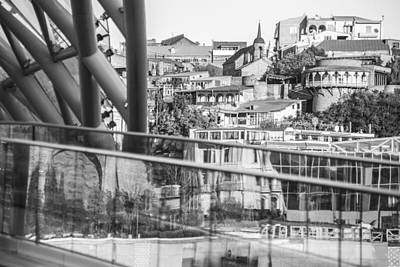 Tbilisi Photograph - Tbilisi Old Town by John Grummitt