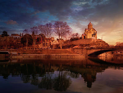 Tbilisi Photograph - Tbilisi Panorama by John Wright