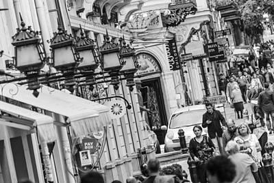 Tbilisi Photograph - Tbilisi Street Scene by John Grummitt