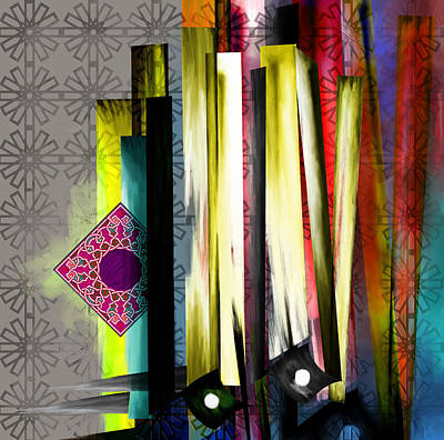 Abstract Expressionism Painting - Tc Calligraphy 27 10 by Team CATF