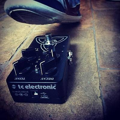 Music Wall Art - Photograph - #tcelectronic #mygear #cool #cover by Roy Dalnero