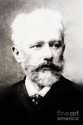 Tchaikovsky, Composer Art Print by John Springfield