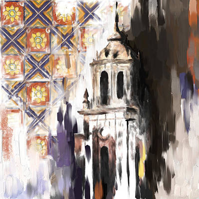 Painting - Tcm Spanish 162 by Mawra Tahreem