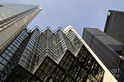 Photograph - Td Bank by Andrew Dinh