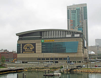 Photograph - Td Garden by Barbara McDevitt