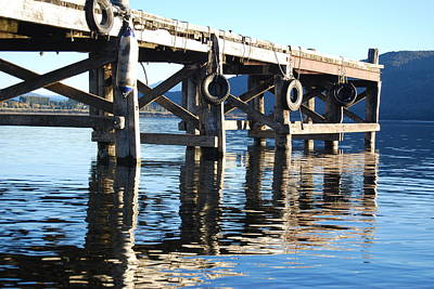 Photograph - Te Anau Pier by Jocelyn Friis