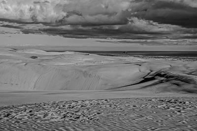 Ninety Mile Beach Photograph - Te Paki Dunes by Tiarnan Colgan